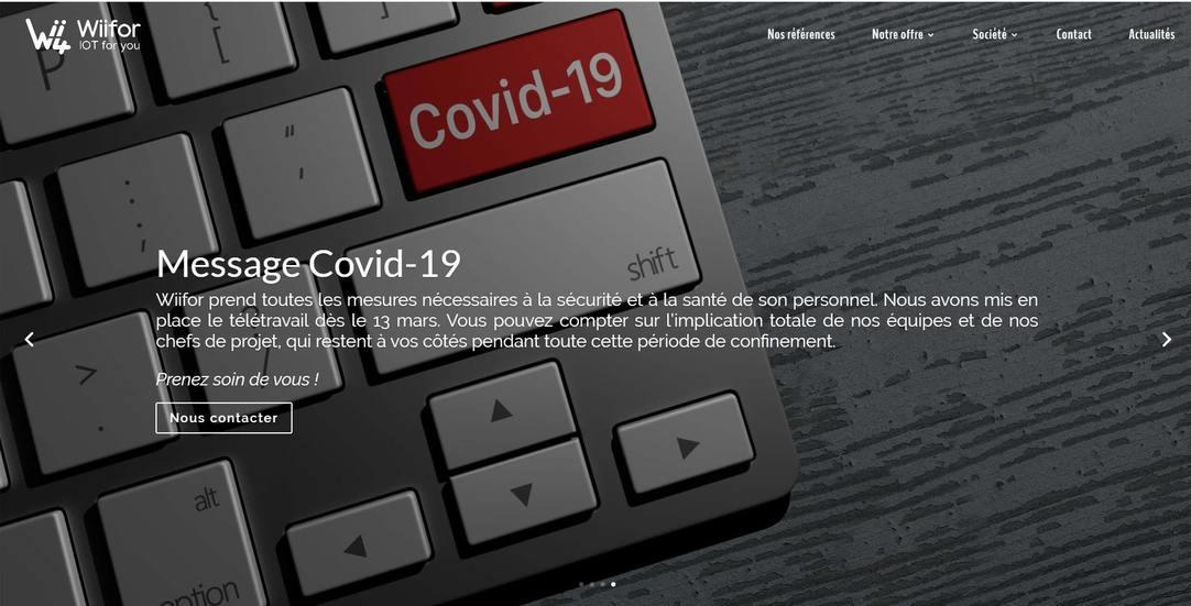 Wiifor x Covid-19