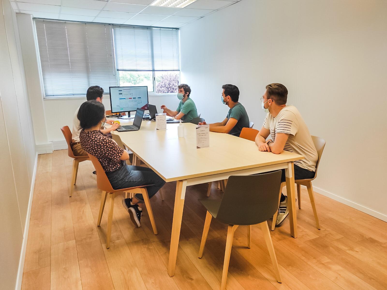 Locaux Wiifor - espace réunion